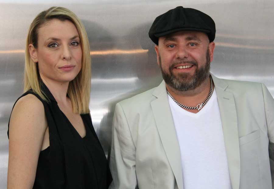 Picture of Clive Allwright and Kelly, owners of Our Place Salon in Sydney