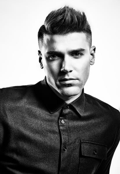 Image of Best Mens hair cut in Sydney by Clive Allwright for Muk Hair Care